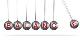Concepto del balance Imagenes de archivo