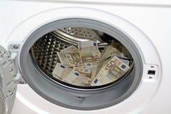 Concepto del blanqueo de dinero Fotografía de archivo