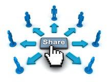 Concepto del botón del Web de la parte Imagen de archivo libre de regalías
