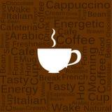 Concepto del café Fotos de archivo libres de regalías