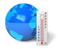 Concepto del calentamiento del planeta Fotos de archivo