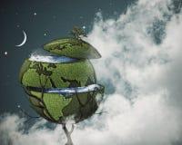 Concepto del calentamiento del planeta Foto de archivo