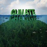 Concepto del cambio de clima ilustración del vector