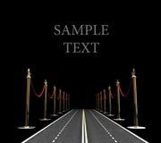Concepto del camino de la alfombra foto de archivo libre de regalías