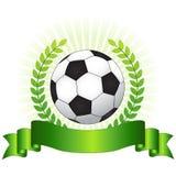 Concepto del campeonato del fútbol Foto de archivo libre de regalías