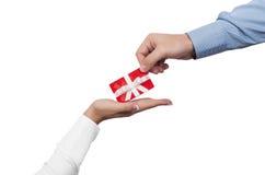 Concepto del carte cadeaux imágenes de archivo libres de regalías