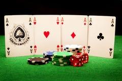 Concepto del casino imagen de archivo libre de regalías
