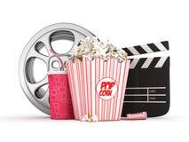 Concepto del cine Imágenes de archivo libres de regalías