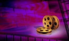 Concepto del cine Fotografía de archivo