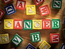 Concepto del cáncer Foto de archivo libre de regalías
