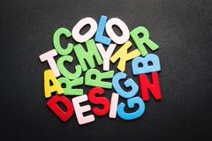 Concepto del color Fotografía de archivo