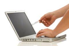 Concepto del comercio electrónico Imagen de archivo libre de regalías