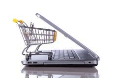 Concepto del comercio electrónico Imagenes de archivo