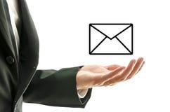 Concepto del correo electrónico Imágenes de archivo libres de regalías