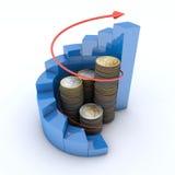 Concepto del crecimiento stock de ilustración