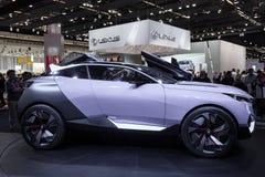 Concepto del CUARZO de Peugeot en el IAA 2015 Imágenes de archivo libres de regalías