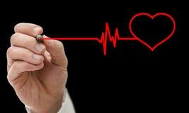 Concepto del cuidado del corazón Imagenes de archivo
