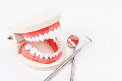 Concepto del cuidado dental Imagen de archivo libre de regalías