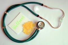 Concepto del cuidado médico Fotografía de archivo