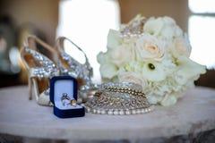 Concepto del día de boda Foto de archivo