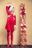 Concepto del día de fiesta de la Navidad Imágenes de archivo libres de regalías
