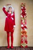 Concepto del día de fiesta de la Navidad Fotos de archivo libres de regalías