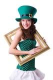 Concepto del día de fiesta de St Patrick Imagen de archivo libre de regalías