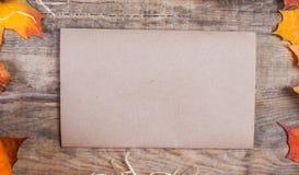 Concepto del día de la acción de gracias - frontera o marco con las calabazas anaranjadas Imágenes de archivo libres de regalías