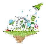 Concepto del Día de la Tierra Foto de archivo libre de regalías