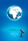 Concepto del Día de la Tierra stock de ilustración