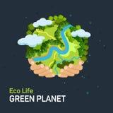 Concepto del Día de la Tierra Imágenes de archivo libres de regalías