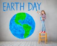 Concepto del Día de la Tierra del día de fiesta de la primavera Fotografía de archivo libre de regalías