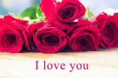 Concepto del día de San Valentín Imagenes de archivo