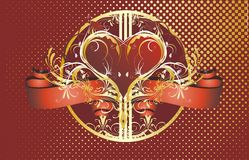 Concepto del día de tarjeta del día de San Valentín (no.9) Foto de archivo
