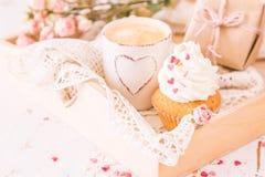 Concepto del día de tarjetas del día de San Valentín imagen de archivo