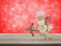 Concepto del día de tarjetas del día de San Valentín Fotografía de archivo