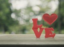 Concepto del día de tarjetas del día de San Valentín Foto de archivo
