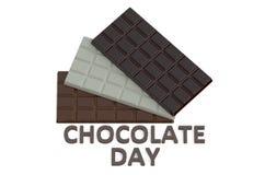 Concepto del día del chocolate Imagen de archivo libre de regalías