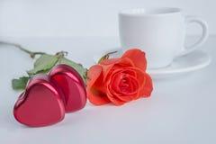 Concepto del día del ` s de la tarjeta del día de San Valentín Imágenes de archivo libres de regalías