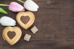 Concepto del día del ` s de la tarjeta del día de San Valentín Imagen de archivo