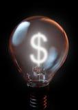 Concepto del dólar Imagen de archivo libre de regalías
