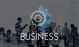 Concepto del desarrollo del análisis de la acción de negocio Imagen de archivo