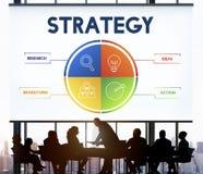 Concepto del desarrollo del plan empresarial de la estrategia Fotos de archivo
