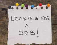 Concepto del desempleo Foto de archivo