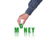 Concepto del dinero fotografía de archivo