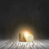 Concepto del dinero Foto de archivo libre de regalías