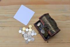 Concepto del dinero del ahorro Foto de archivo libre de regalías