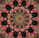 Concepto del ejemplo del arte abstracto Fotografía de archivo