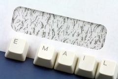 Concepto del email Imágenes de archivo libres de regalías