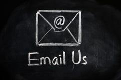 Concepto del email Fotografía de archivo